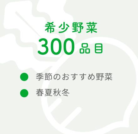 希少野菜300品目